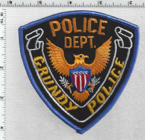 Grundy Police (Virginia) 4th Issue Shoulder Patch