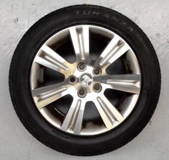 """17"""" HOLDEN COMMODORE BARINA OEM ALLOY WHEELS AND TYRES (USED)$499 Ferntree Gully Knox Area Preview"""
