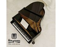 SELF PLAYING - BRAND NEW - STEINHOVEN SG183 - BLACK HIGH GLOSS GRAND PIANO!