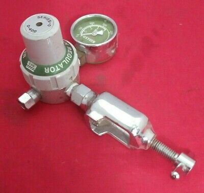 Medical Oxygen Regulator And Yoke Series-0 0-400 518 805 Good Condition