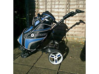 Motocaddy S3 Pro Electric Trolley with Lithium Battery