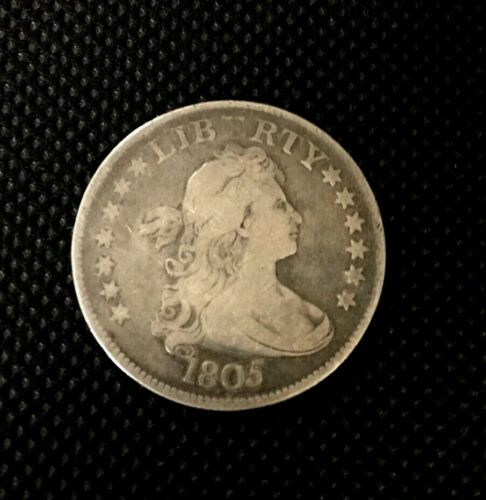 1805 Draped Bust Quarter 25C Coin