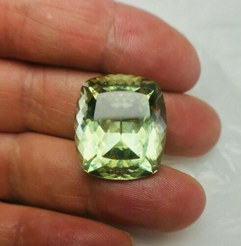 GIA Certified Loose AAA Grade Natural Green Beryl Gemstone 27.36ctw