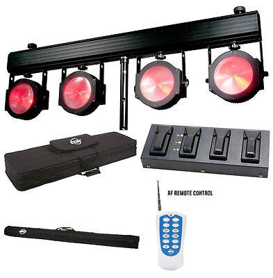 American DJ Dotz TPAR System LED Licht Set  DJ Licht Set Entertainer LED Leuchte American Leuchter