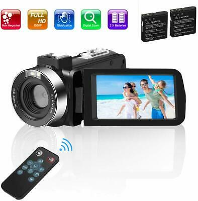 Video Camera Camcorder Digital vlogging Camera for YouTube Full HD 1080P 30FPS 3