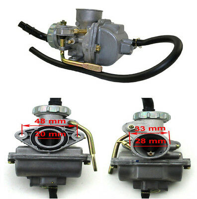 ATV Carburetor PZ20 For NST 50cc 70cc 90cc 110cc 125cc ATVs Dirt Bikes Go Karts