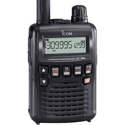 Usado, ICOM IC-R6  Ricevitore portatile ad ampia copertura 0,1~1310 MHz 3459 segunda mano  Embacar hacia Spain