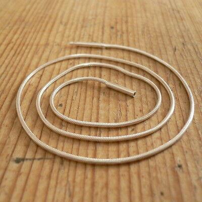Schlangenkette mit Bajonettverschluss Silber 45cm