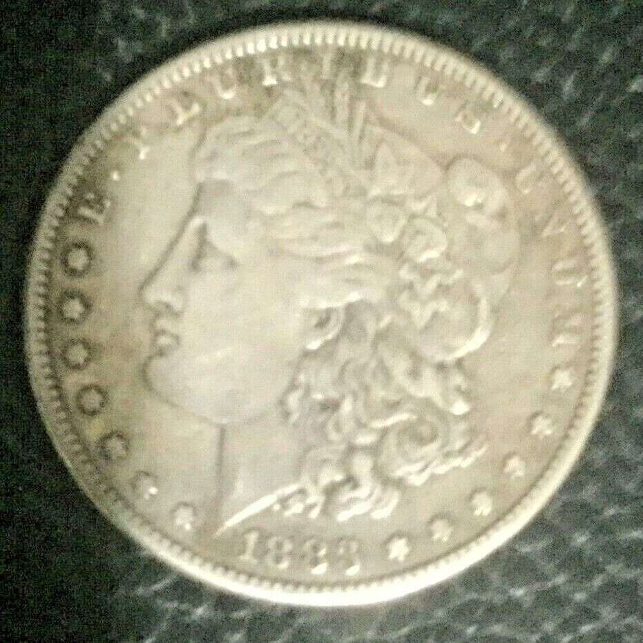 1883-S Nice San Francisco Morgan Silver Dollar 90 SILVER Great Investment  - $47.35