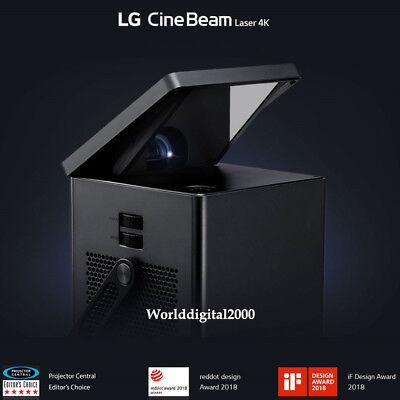 "LG HU80KA 4K UHD Laser Smart Home Theater CineBeam Up to 150"" screen size HDR 10"
