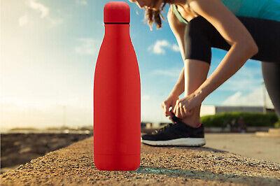 Borraccia portatile bottiglia 500ml d'acqua in acciaio termica caldo e freddo
