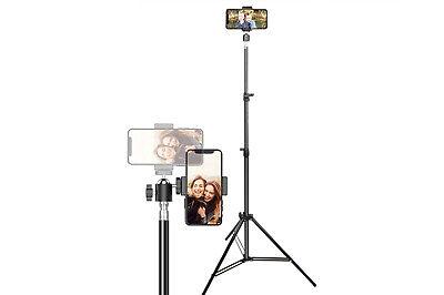 Treppiede cavalletto multifunzionale supporto regolabile telefono fotografia