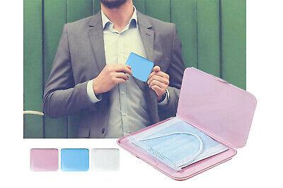 Porta mascherina tascabile custodia rigida astuccio bambini contenitore igienico