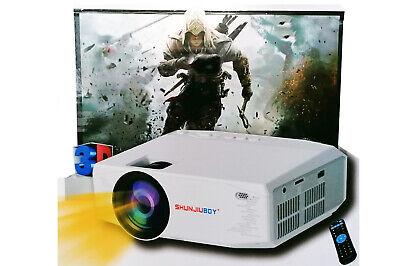 Video proiettore WIFI portatile 4k full HD USB microSD telefono pc SJ-Y13