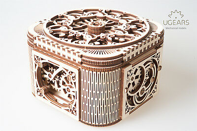 UGears Treasure Box - Wooden Mechanical Model - 190 Pieces for sale  Overland Park