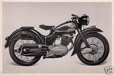 Sammelbild 1952 ** NSU MAX MOTO Orig