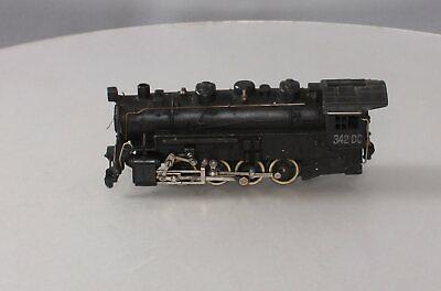 American Flyer 342DC Vintage S NKP 0-8-0 Die-Cast Steam Switcher