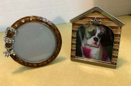 Two (2) Small Dog Specific Picture Frames