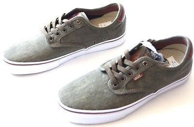 262bf25fe6 NWOB Vans Chima Ferguson Pro VN03CHI4N twill olive skateboarding shoe men  sz 9