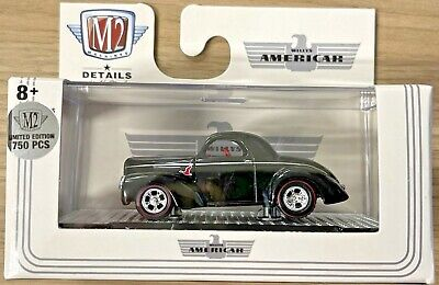 2021 M2 MACHINES 1941 WILLYS COUPE GASSER WILD GOOSE CHASE AMERICAR R66 21-28