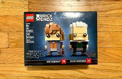 LEGO BrickHeadz 41631 Newt Scamander & Gellert Grindelwald Fantastic Beasts NEW!