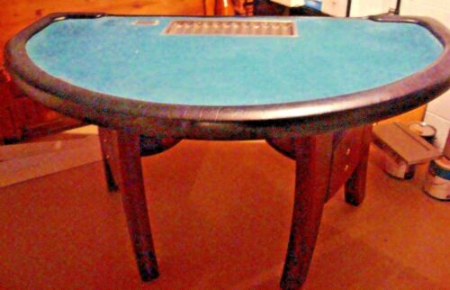 Mahogany BLACKJACK TABLE - From the High End Room of a Popular Casino -