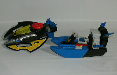 Fisher Price Imaginext DC Super Friends Batman Boat and Batwing Plane