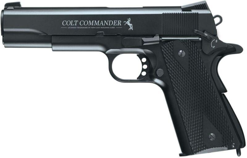 Umarex Colt Commander Blowback .177 BB Gun Air Pistol w/ 18-Round Mag