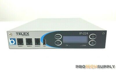 Telex Ip-224 Radio Dispatch Roip Repeater Ham Radio With Warranty