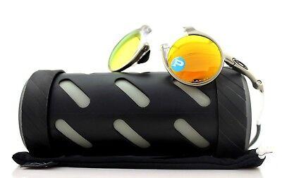 POLARIZED RARE New OAKLEY MADMAN Plasma Fire Iridium Sunglasses OO 6019-07