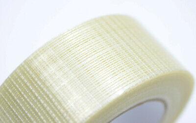 6x 2 60 Yards Bi-direction Fiberglass Reinforced Strapping Filament Tape 190 Lb