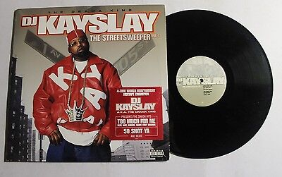 DJ KAY SLAY The Streetsweeper Vol. 1 2xLP Columbia Rec 87048-S1 US 2003 VG++ (Dj Kay Slay The Streetsweeper Vol 2)