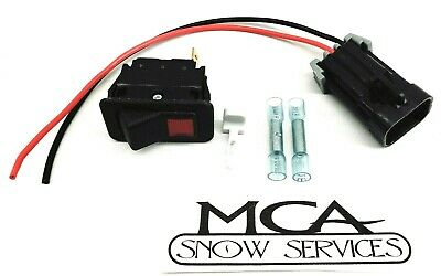 Bobcat Beacon Emergency Light Switch And Pigtail Skidsteer 6668816 6718872