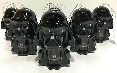 Star Wars Disney Hallmark Darth Vader Lot of 6 Christmas Ornament holiday