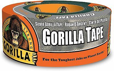 Gorilla 6071202 Silver Duct Tape 1.88 In. X 12 Yd 1-pack