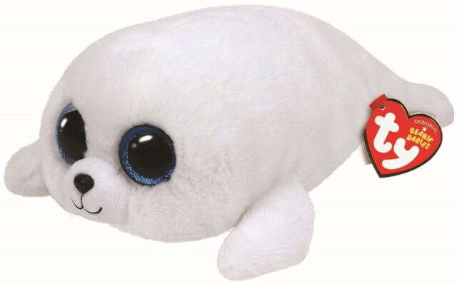 """TY Beanie Boo Buddy 9"""" Icy the Seal - Collectable Plush"""
