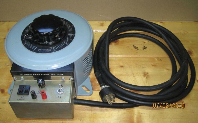 Powerstat Type 146 Variable Autotransformer, 120V, 30A, 4.2 KVA, single phase