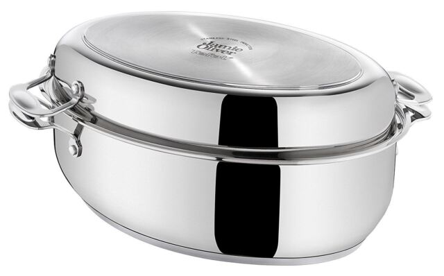 tefal jamie oliver professional series oval roasting pan. Black Bedroom Furniture Sets. Home Design Ideas