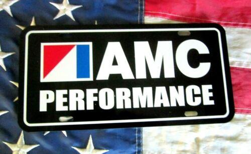 AMC PERFORMANCE LICENSE PLATE TAG 1968 1969 1970 1971 1972 Javelin AMX Hornet X