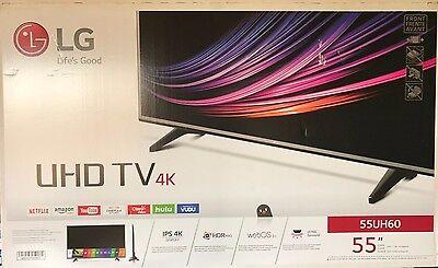 LG Electronics - 55UH6030 - 55-Inch 4K Ultra HD Smart LED TV (2016 Model)