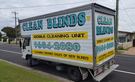 Mobile Blinds Cleaning BUSINESS FOR SALE! (Including Truck)