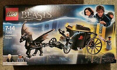 LEGO Harry Potter Grindelwald's Escape 75951 New & Sealed