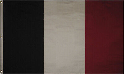 4x6 Embroidered France French Cotton Flag Large 4'x6' Banner Grommets