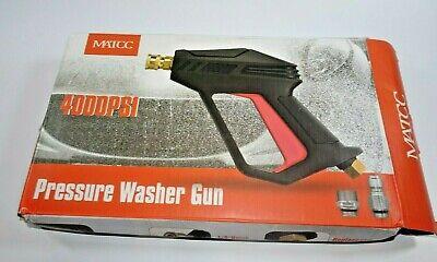 Matcc Pressure Washer Gun 4000psi 2020 Upgrade Version Car Power Washer Gun