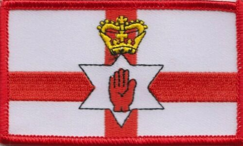 Northern Ireland Flag Embroidered Patch