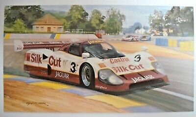MICHAEL TURNER 1990 LE MANS 24 HOURS CHRISTMAS CARD ()