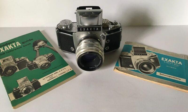 Vintage EXAKTA Ihagee Dresden VX Carl Jena 1:2 f 58mm Lens Manuals