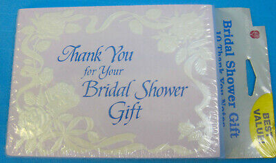 Bridal Shower Thank You Gifts (Thank You for Bridal Shower Gift Cards & Envelopes Floral Design 10)