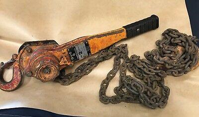 Harrington Lever Hoists Hook Mounted