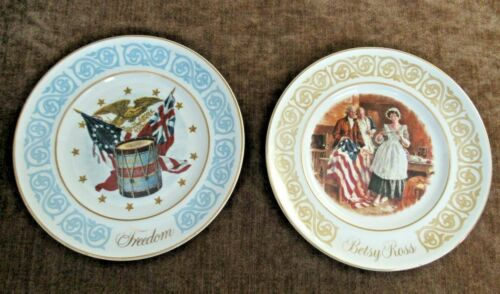 Vintage 1973-74 Avon Betsy Ross & Freedom Collector